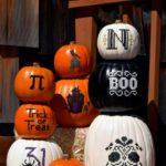pic of stitched pumpkins