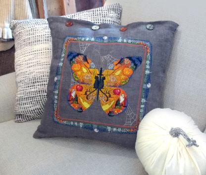 Boo Butterfly cross stitch pattern