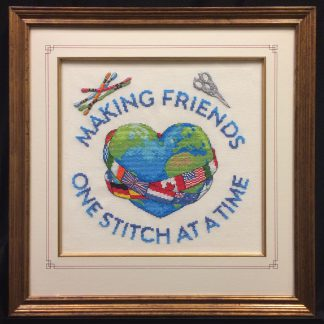 Together We Stitch cross stitch pattern