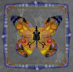 BOO Butterfly by Brian Jackins