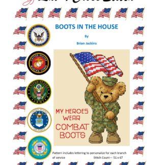 military cross stitch pattern
