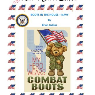 Navy cross stitch